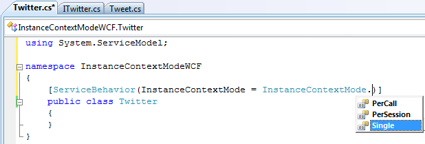 Instance-Context-Modes