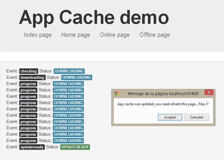 App-Cache-demo