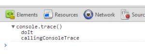 console.trace_