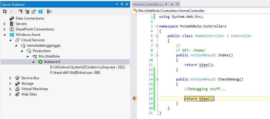 Debugger Attached
