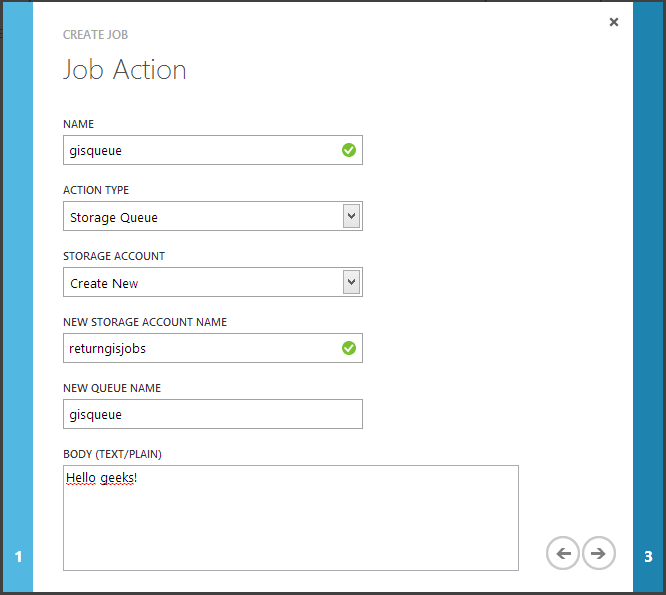 job action new queue