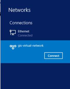 VPN point to site Windows 8