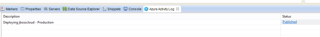 Azure Activity Log