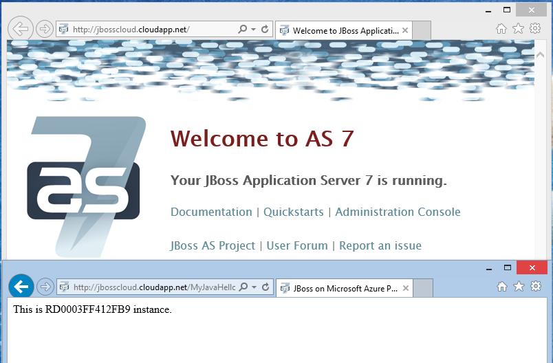 JBoss on Azure