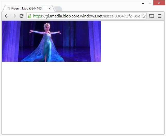 Frozen thumbnail