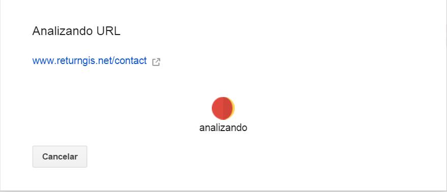 Google Webmasters Tools - Analizando URL