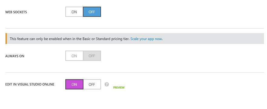 Edit in Visual Studio Online