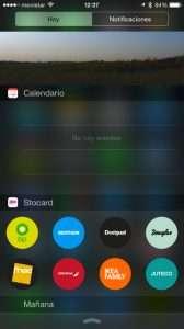 storcard - centro de notificaciones