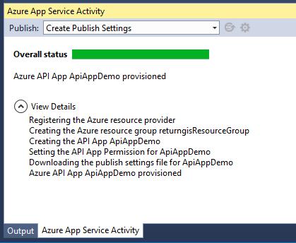 Azure App Service Activity