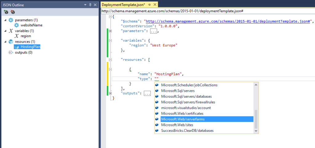 Azure Resource Manager - Resources