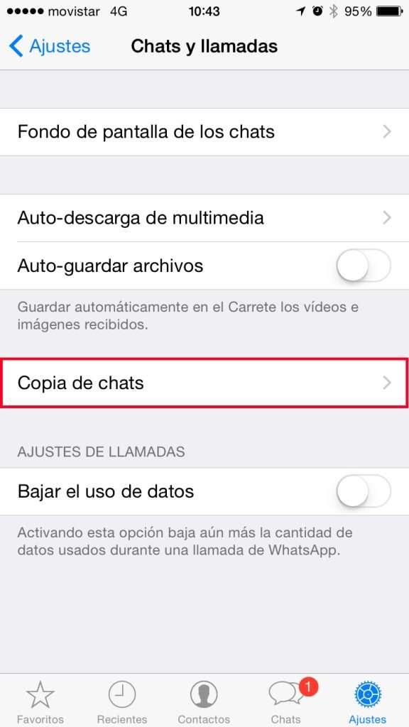 WhatsApp - Copia de Chats