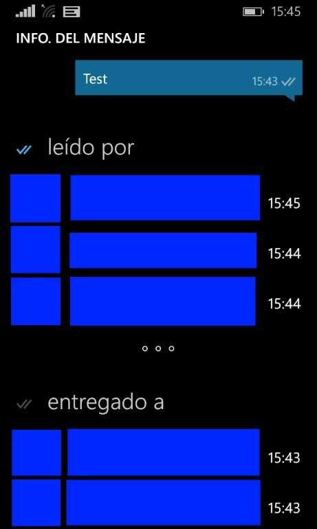 WP - WhatsApp - Grupos - Leidos
