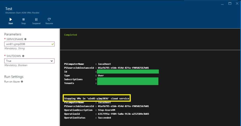 Shutdown-Start-ASM-VMs-Parallel Shutdown