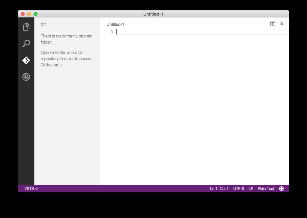 Visual Studio Code - Git tab
