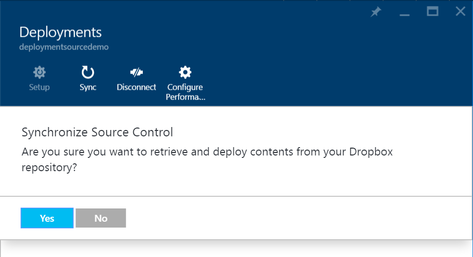 Deployments - Dropbox - Sync