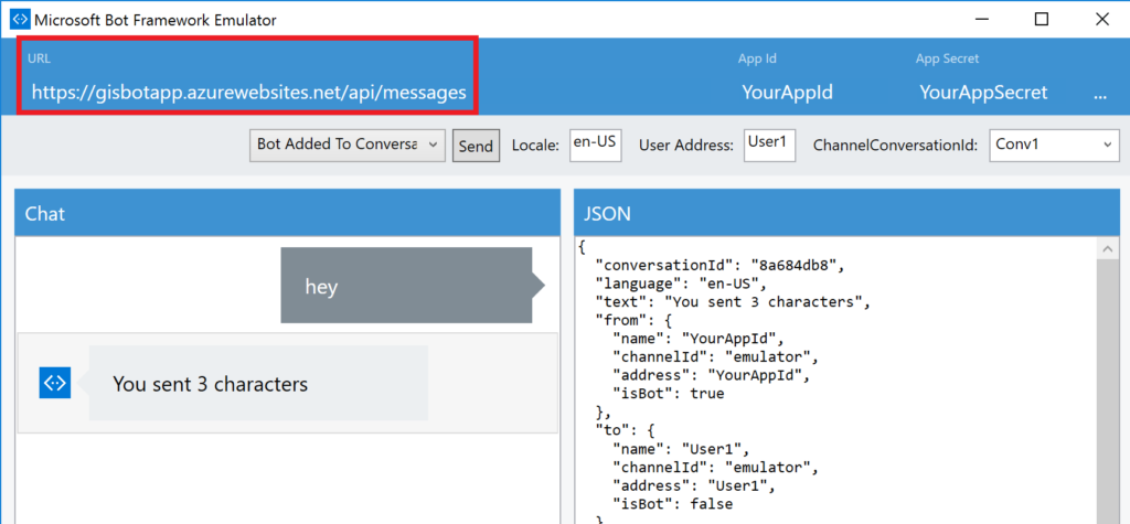 MS Bot Fw Emulator - API App