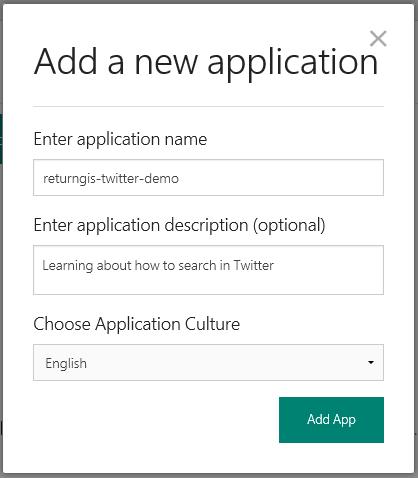 luis.ai - new application