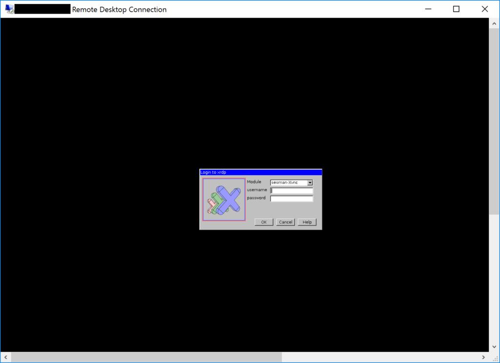Remote Desktop Connection - XRDP