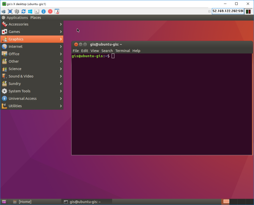 UltraVNC - Ubuntu Server - Unity Desktop