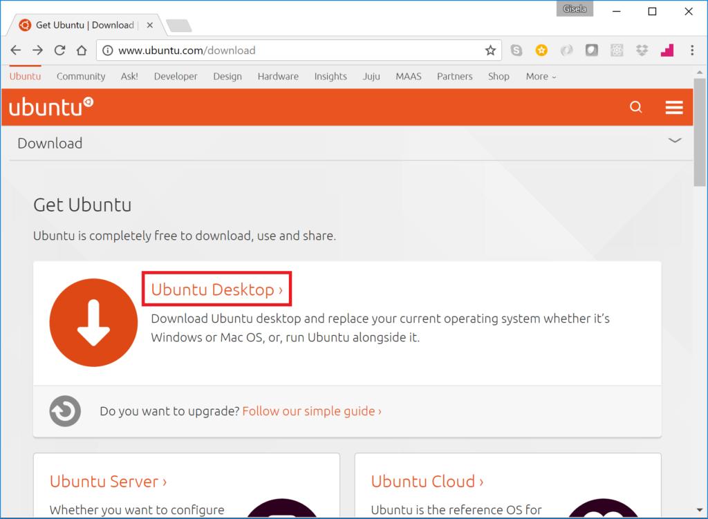 Get Ubuntu - Ubuntu Desktop