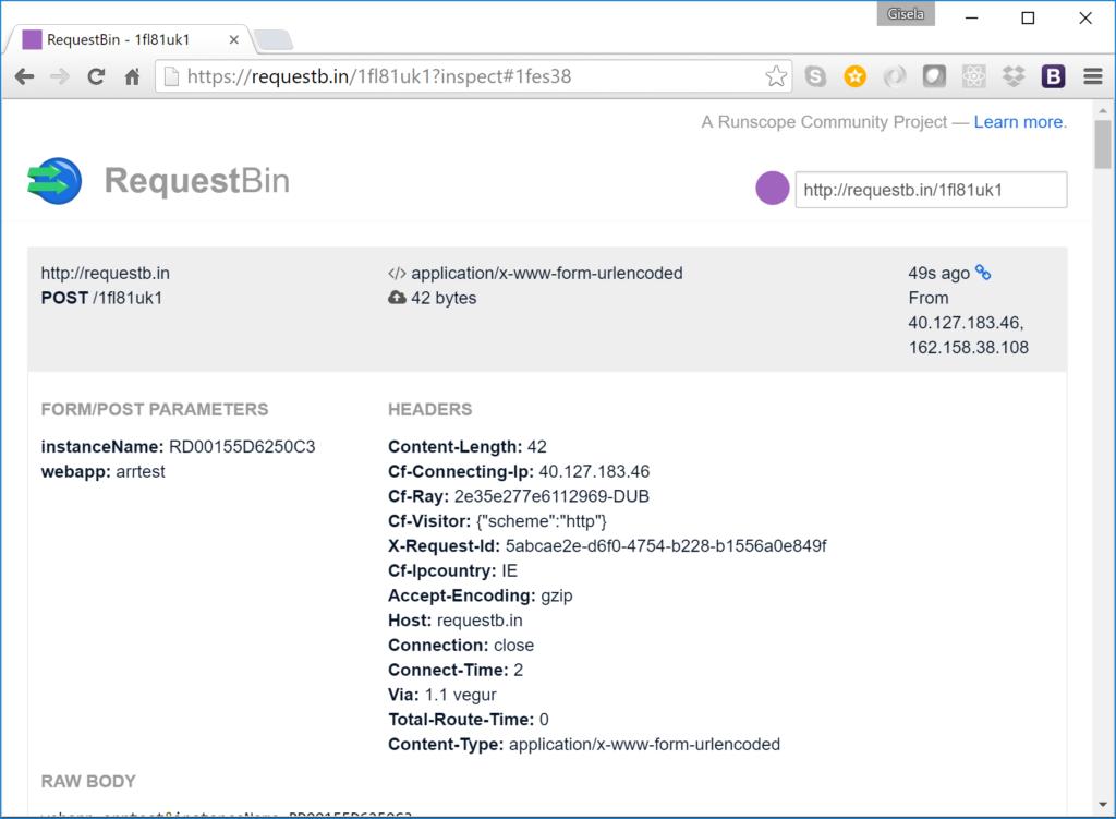 RequestBin - Application Initialization Module