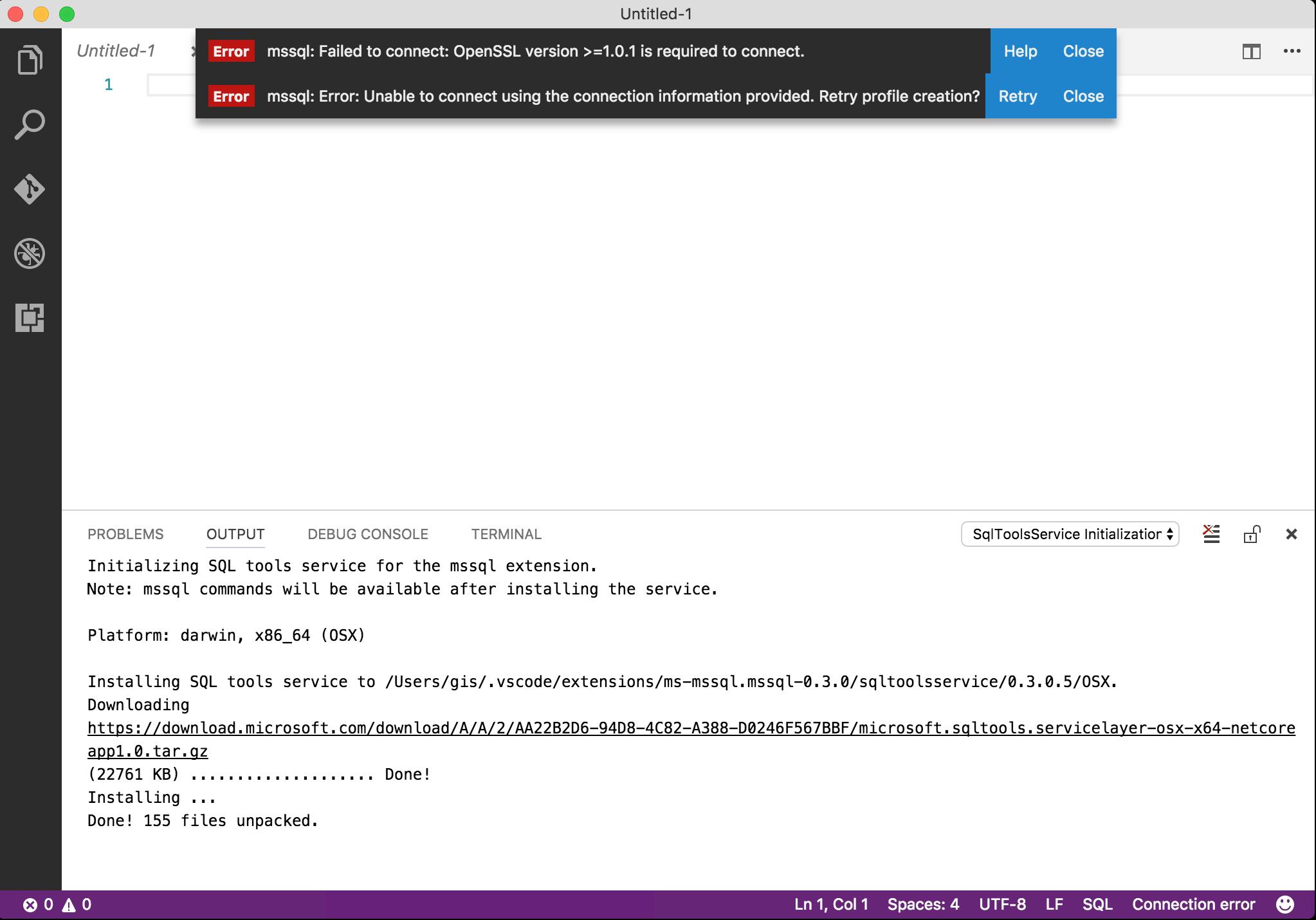 Conéctate a tu base de datos desde Visual Studio Code