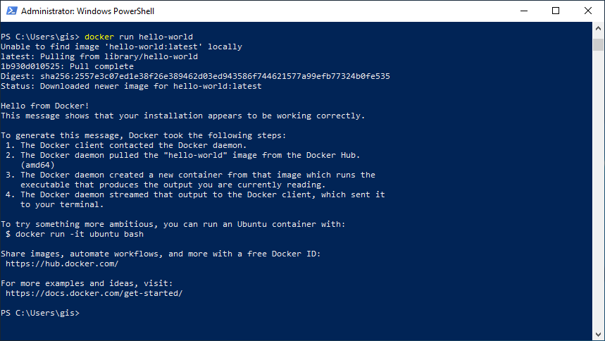 Hoy empiezo con Docker | return(GiS)