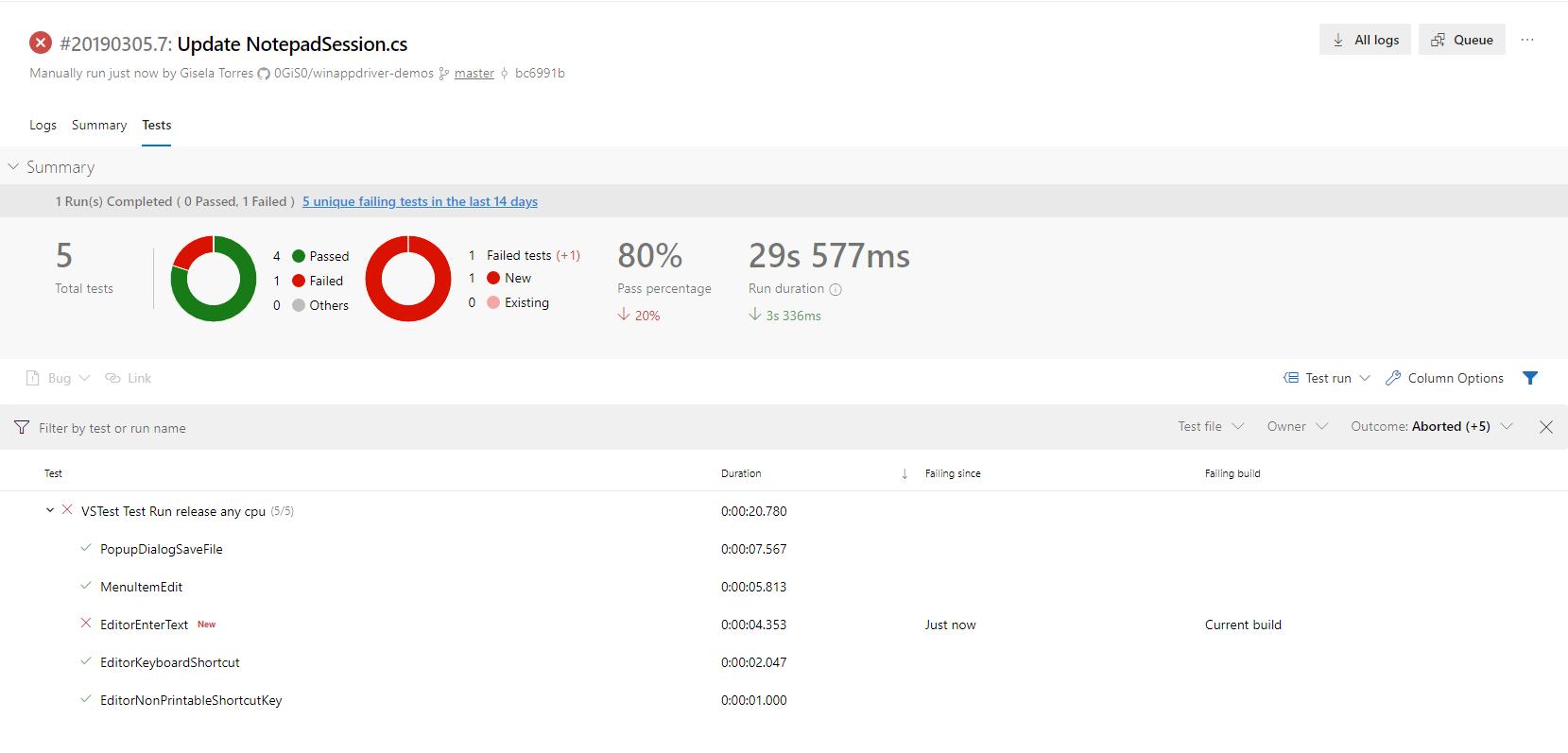 Automatizar tus tests con WinAppDriver con Azure DevOps | return(GiS)