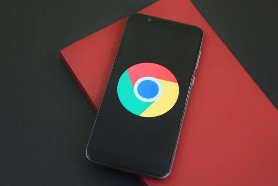 black google smartphone on box