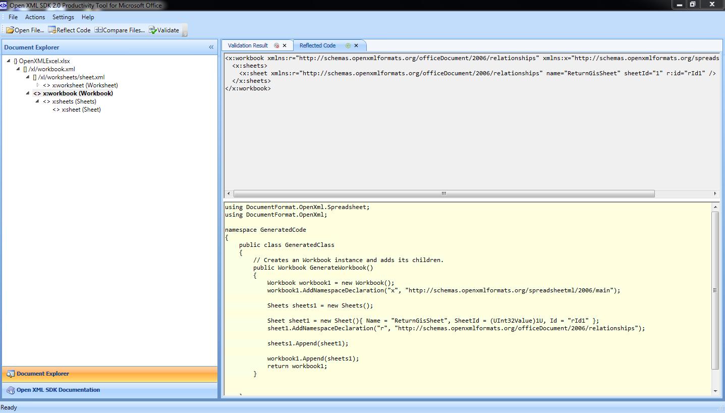 Crear un documento Excel con Open XML   return(GiS)